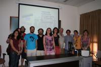 La temática de la investigación atrajo a un grupo de personas que acudieron a la facultad de Filosofía y Letras
