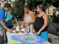 Representantes de Córdoba Solidaria, en la presentación de la XXI Feria Solidaridad
