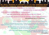 Imagen del cartel de la actividad especial de Enlace-D