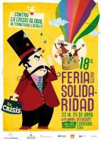 Imagen del cartel de la XVIII Feria de la Solidaridad que organiza Córdoba Solidaria