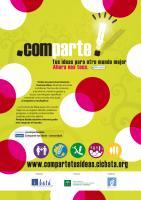 Cartel informativo de la Factoría de Ideas para otro mundo mejor