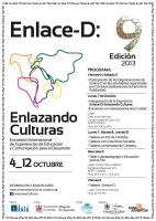 Cartel general de Enlazando Culturas 2013