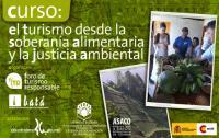 Cartel del Curso Turismo y Soberanía Alimentaria