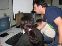 El CAPI de Moreras es uno de los centros donde se desarrollan actividades con motivo al Día de Internet