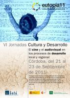 Imagen del cartel de las VI jornadas Cultura y Desarrollo
