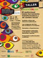 Cartel informativo de Imágenes del Sur en Sevilla