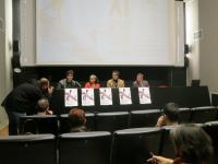 La sala Josefina Molina ha sido el escenario de la rueda de prensa de presentación de la Muestra