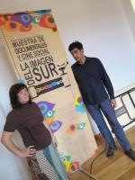 Rafael Cantero y Manuela Hidalgo, en la presentación del programa de la X Muestra